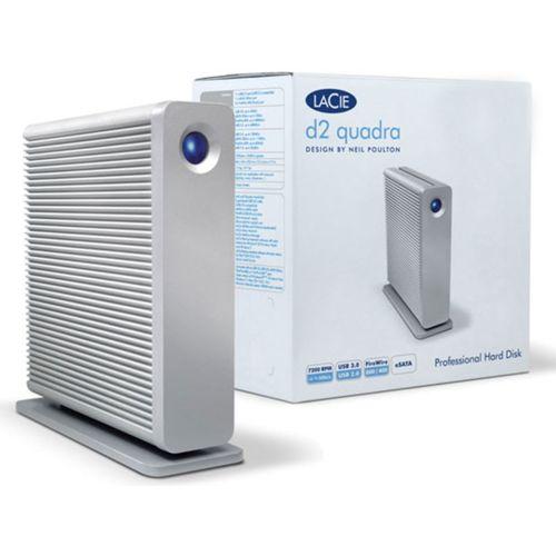 """LaCie 3To 3.5"""" D2 QUADRA V3 (301549EK) - Achat / Vente Disque dur Externe sur Cybertek.fr - 0"""