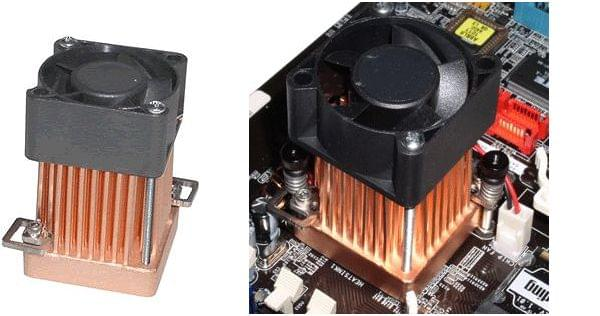Swiftech MCX159-CU pour chipset (ventilé) (MCX159-CU) - Achat / Vente Ventilateur sur Cybertek.fr - 0
