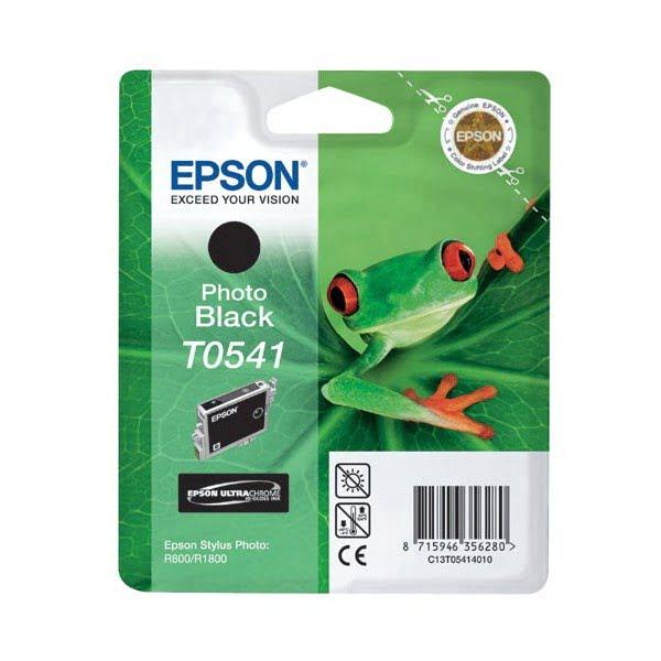 Cartouche T0541 Stylus R800 Photo Noir pour imprimante Jet d'encre Epson - 0