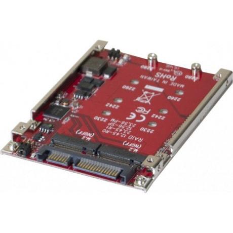 """SATA 2,5"""" pour RAID 2xM.2 NGFF - Carte contrôleur Dexlan - 0"""