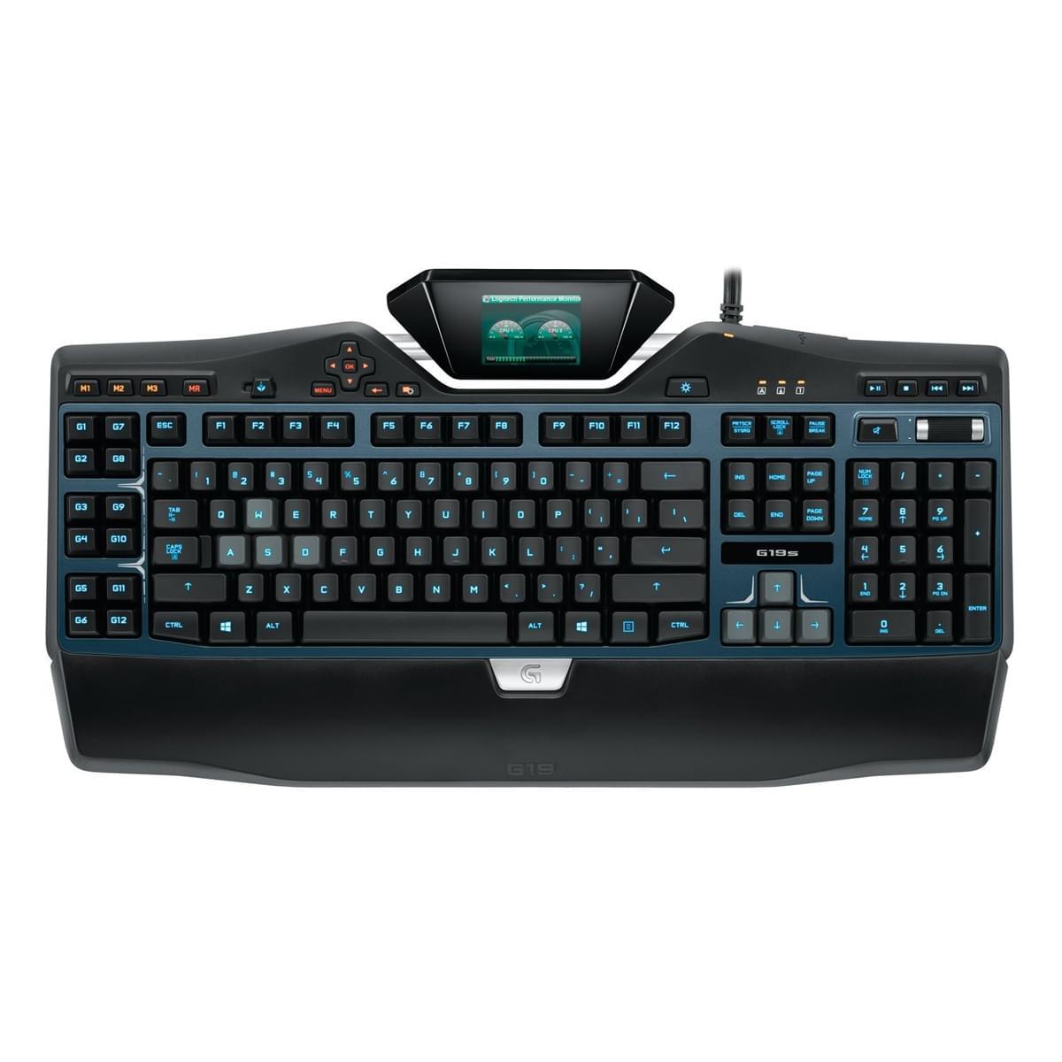 Logitech G G19 S Gaming Keyboard (920-004987 soldé) - Achat / Vente Clavier PC sur Cybertek.fr - 0