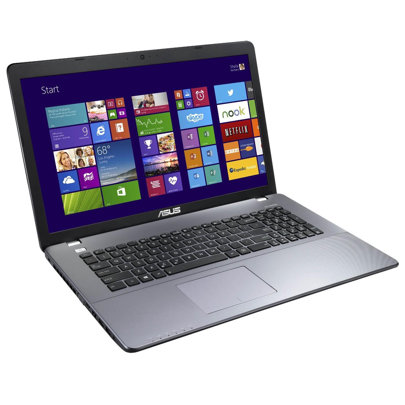 Asus P750LB-T2058G (P750LB-T2058G) - Achat / Vente PC portable sur Cybertek.fr - 0