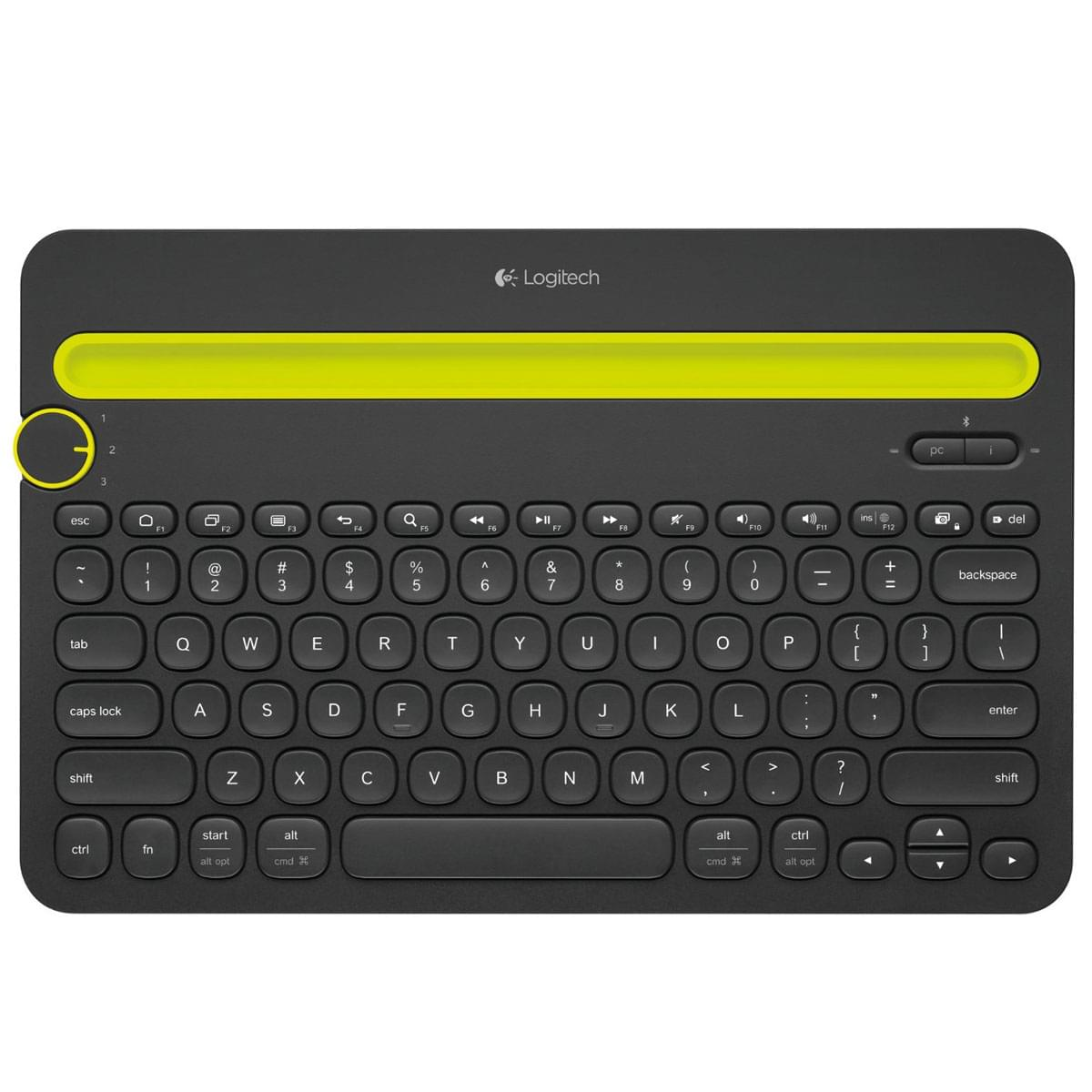 Logitech K480 Black (Bluetooth) - Clavier PC - 0