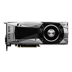 PNY Carte Graphique GTX1070 Founders Edition - GTX1070/8Go/DVI/DP/HDMI Cybertek