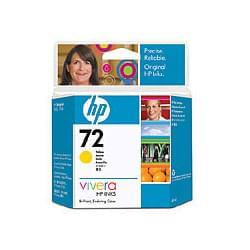 HP Cartouche n° 72 Jaune C9400A (C9400A) - Achat / Vente Consommable Imprimante sur Cybertek.fr - 0
