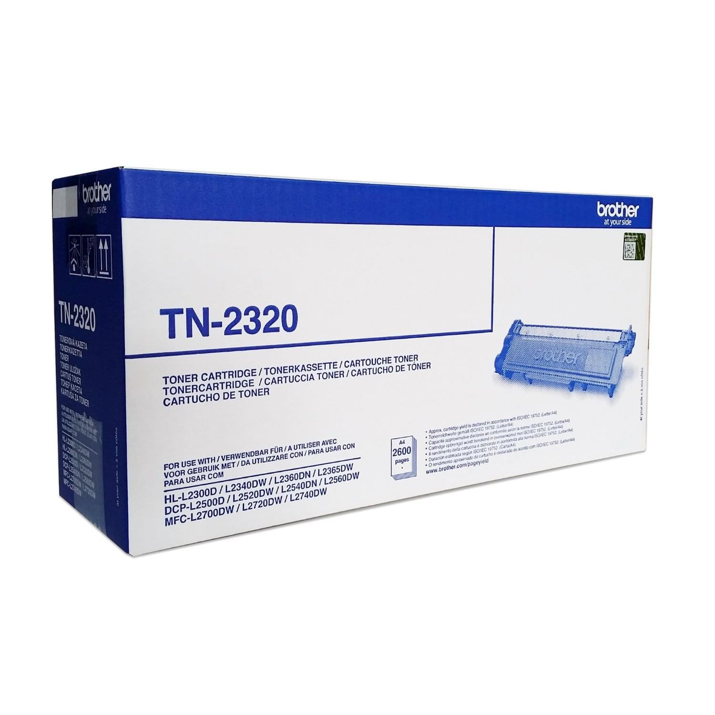 Brother Toner TN-2320 (TN2320) - Achat / Vente Consommable Imprimante sur Cybertek.fr - 0