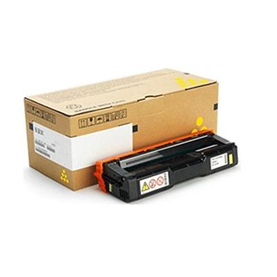 Toner Jaune SPC252 4000p. - 407534 pour imprimante Laser Ricoh - 0