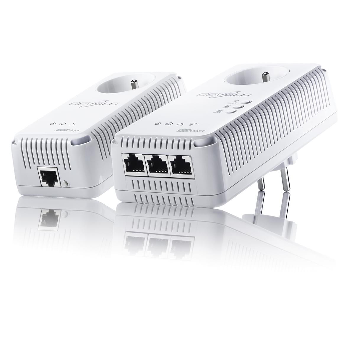 Devolo dLAN 500 AV Wireless+ Starter Kit (1829) - Achat / Vente Adaptateur CPL sur Cybertek.fr - 0