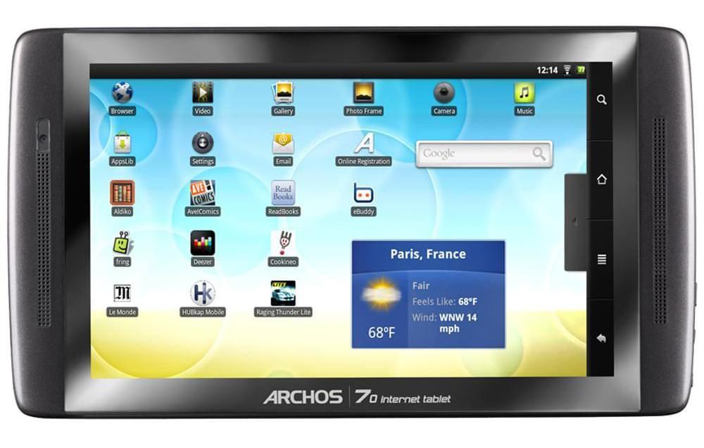 Archos Archos 70 8Go - Achat / Vente Tablette Tactile sur Cybertek.fr - 0