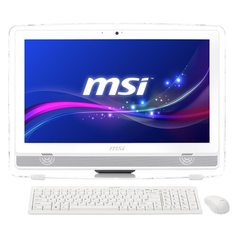 MSI AE220-002EU (AE220-002EU) - Achat / Vente All-In-One PC sur Cybertek.fr - 0