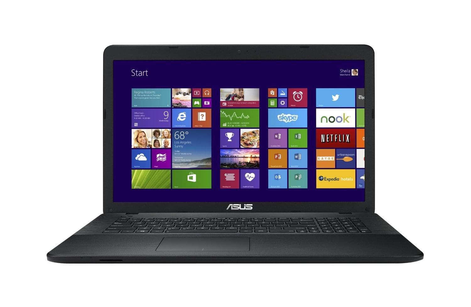 Asus X751MD-TY062H - PC portable Asus - Cybertek.fr - 0