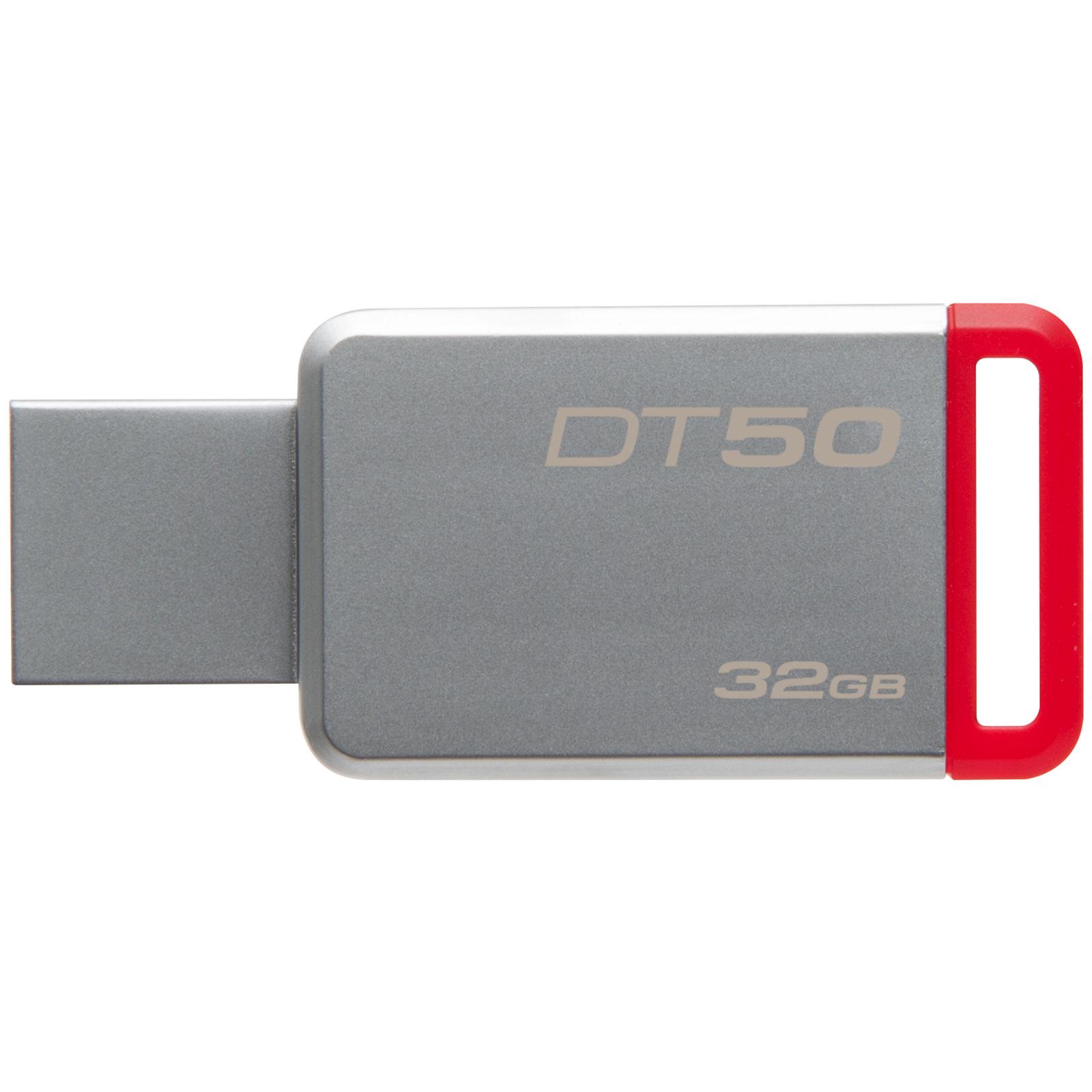 Kingston DataTraveler 50 32Go USB 3.1 (DT50/32GB) - Achat / Vente Clé USB sur Cybertek.fr - 1