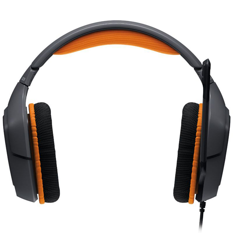 Logitech G231 Prodigy Gaming Headset Stereo Orange - Micro-casque - 3