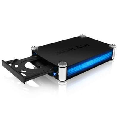 """Icy Box USB3.0/eSATA pour ODD 5.25"""" SATA (IB-550StU3S) - Achat / Vente Boîtier externe sur Cybertek.fr - 0"""