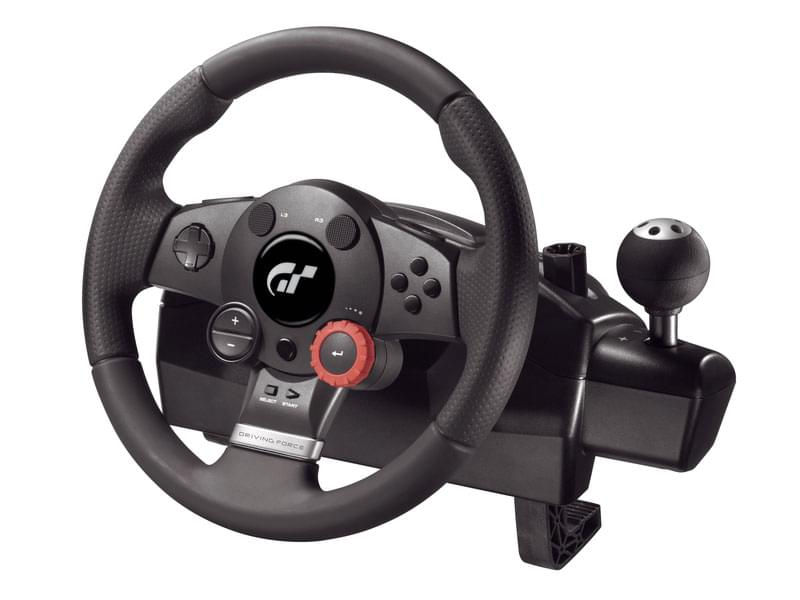 Logitech Volant Driving Force GT - PC/PS2/PS3 - Volant - 0