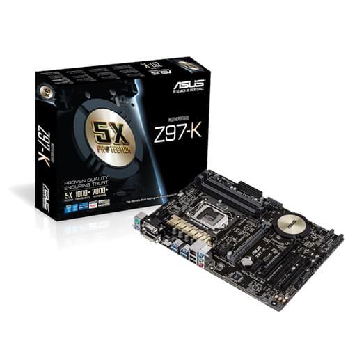 Asus Z97-K (Z97-K) - Achat / Vente Carte Mère sur Cybertek.fr - 0