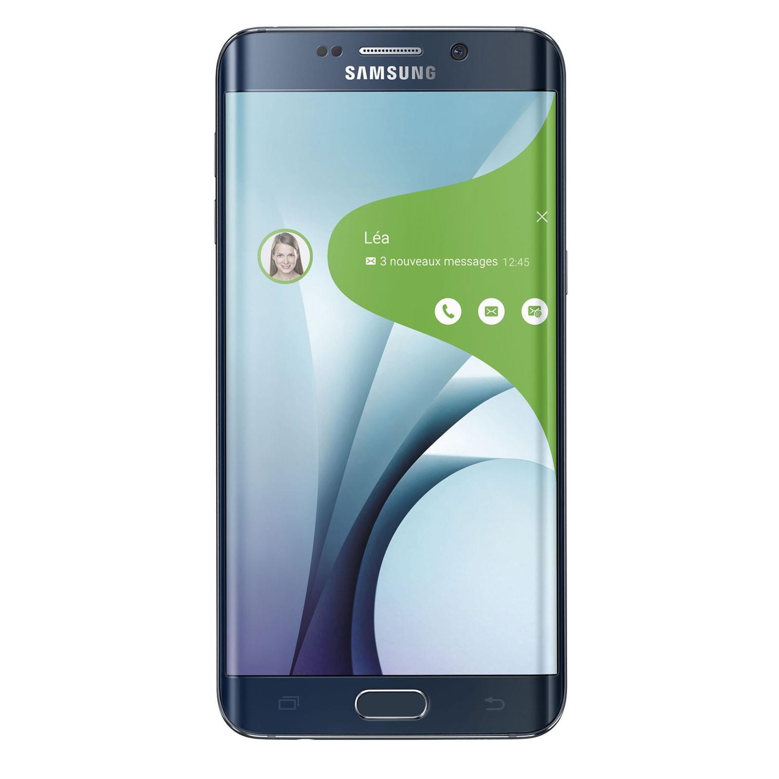 Samsung Galaxy S6 Edge+ 32Go SM-G928F Black (SM-G928FZKAXEF soldé) - Achat / Vente Téléphonie sur Cybertek.fr - 0