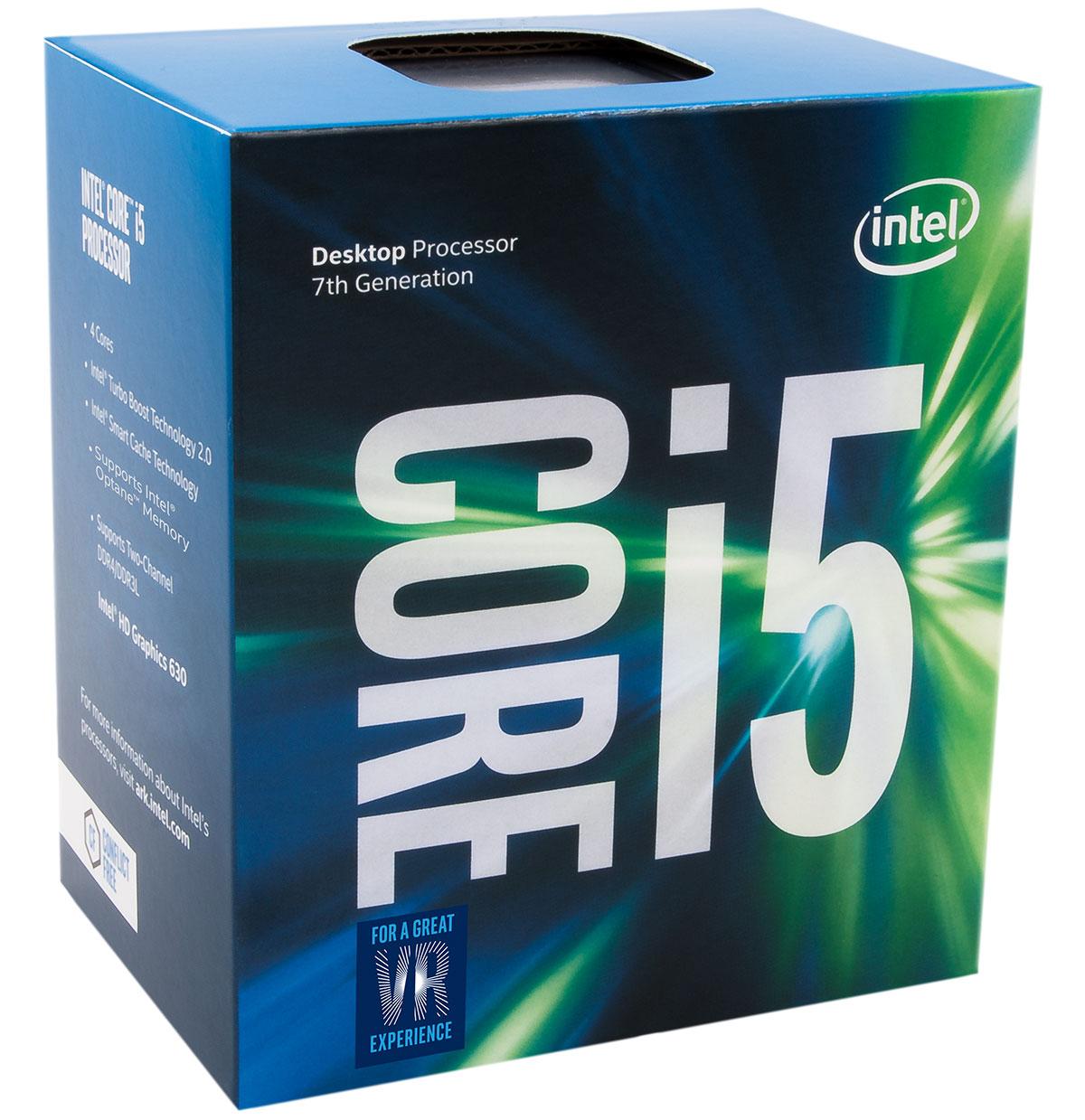 Intel Core i5 7500 - 3.4GHz - Processeur Intel - Cybertek.fr - 1