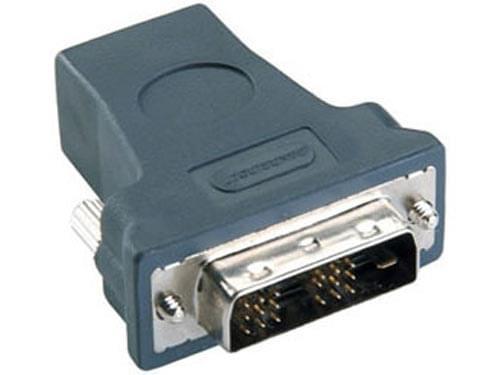 Adaptateur HDMI Femelle - DVI Mâle - Connectique PC - Cybertek.fr - 0