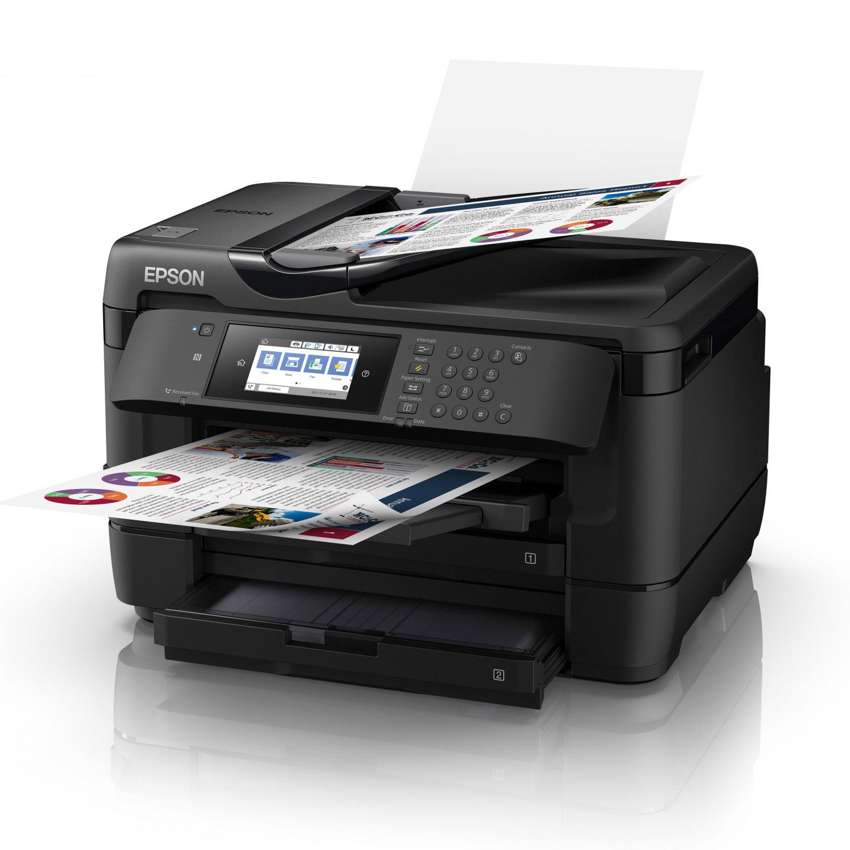 Imprimante multifonction Epson WorkForce WF-7720DTWF - A3 - 1