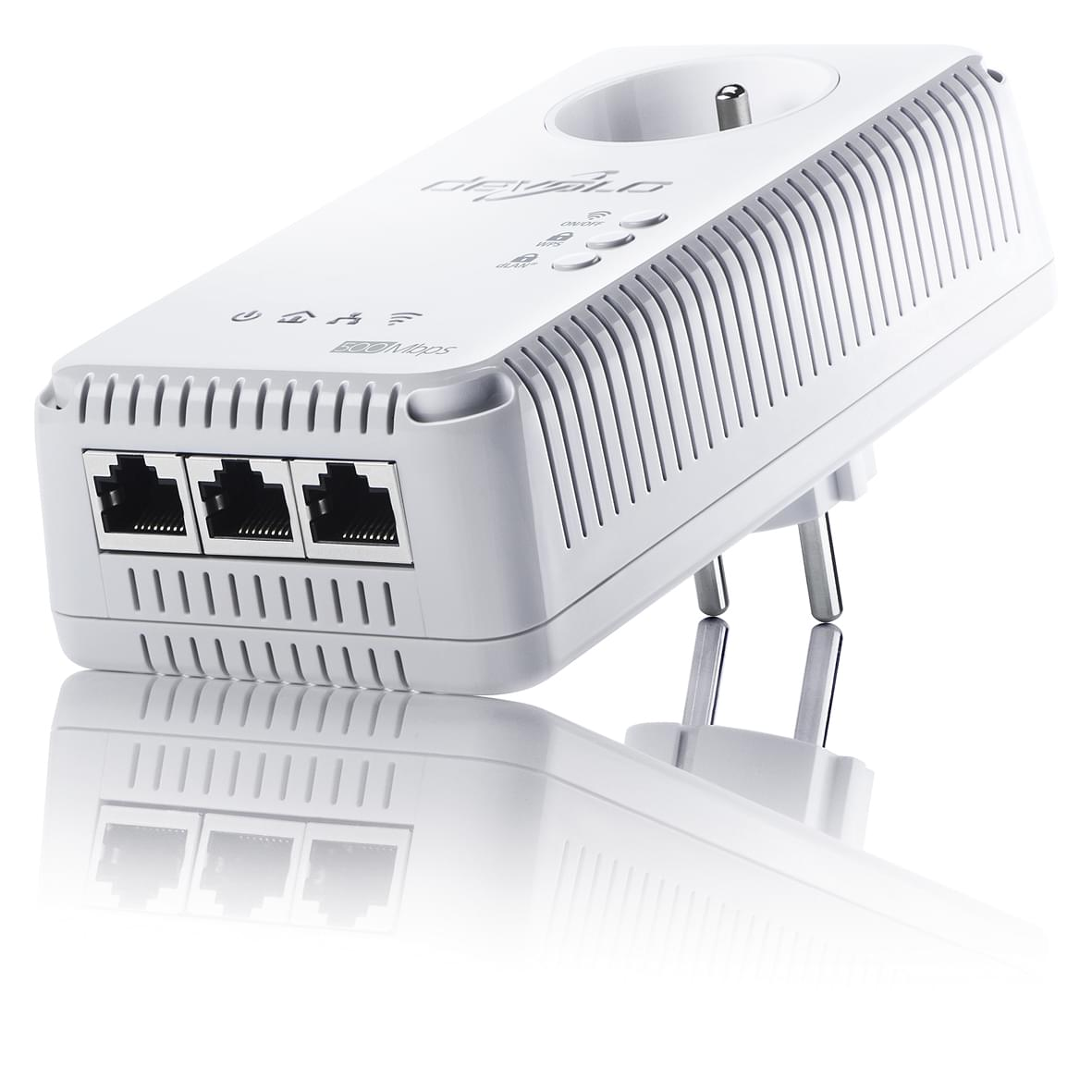 Devolo dLAN 500 AV Wireless+ - 01828 - Adaptateur CPL - 0