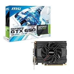 MSI Carte Graphique N650 1GD5/OCV1 - 1Go/DVI/HDMI/PCI-E Cybertek