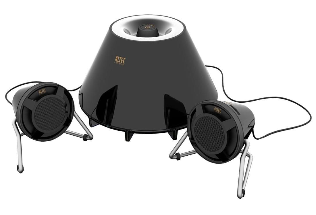 Altec Lansing FX3021 Black (derniere piece obso) - Achat / Vente Enceinte PC sur Cybertek.fr - 0