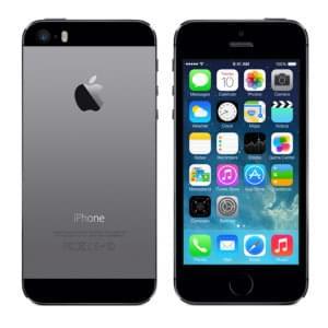 Apple iPhone 5S 16Go Gris Sidéral (Noir) (ME432F/A) - Achat / Vente Téléphonie sur Cybertek.fr - 0