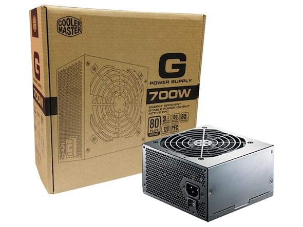 Cooler Master ATX 700 Watts G 700W 80+ Bronze RS700-ACAAB1-EU (RS700-ACAAB1-EU) - Achat / Vente Alimentation sur Cybertek.fr - 0