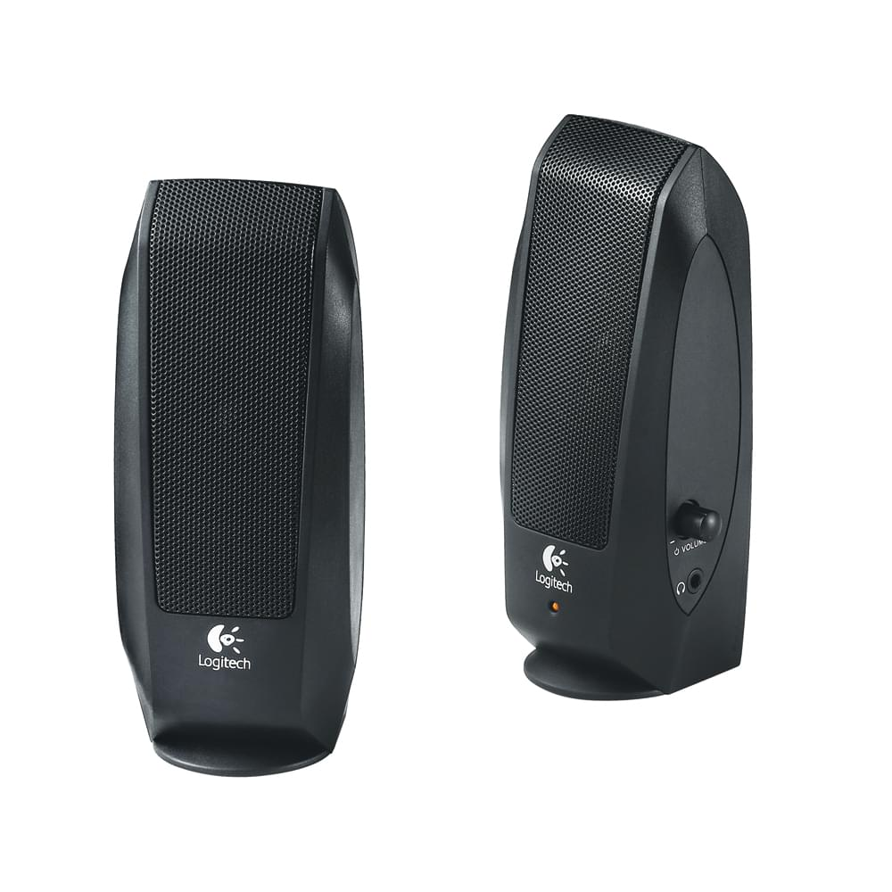 logitech 2hp s 120 enceinte pc logitech. Black Bedroom Furniture Sets. Home Design Ideas