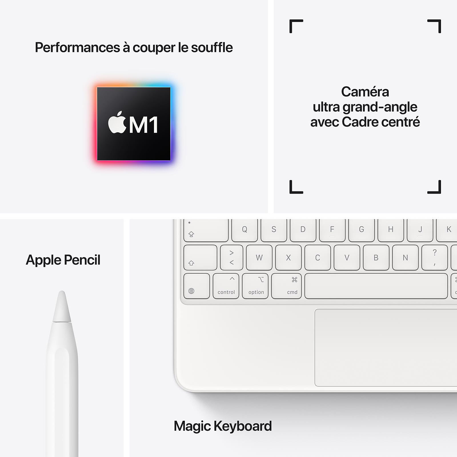 "Apple iPad Pro 11"" WiFi 256Go Gris Sidéral - Tablette tactile - 2"