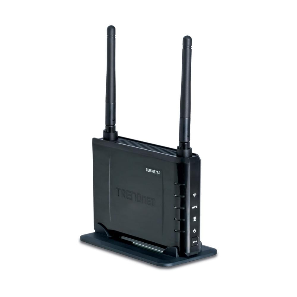 TrendNet Point d'accès WiFi-N Upgrader 300MB (TEW-637AP) - Achat / Vente Réseau Divers sur Cybertek.fr - 0