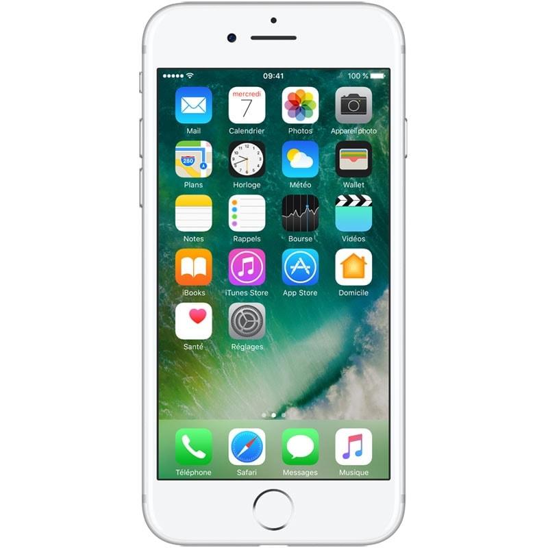 Apple iPhone 7 128Go Argent - Téléphonie Apple - Cybertek.fr - 0