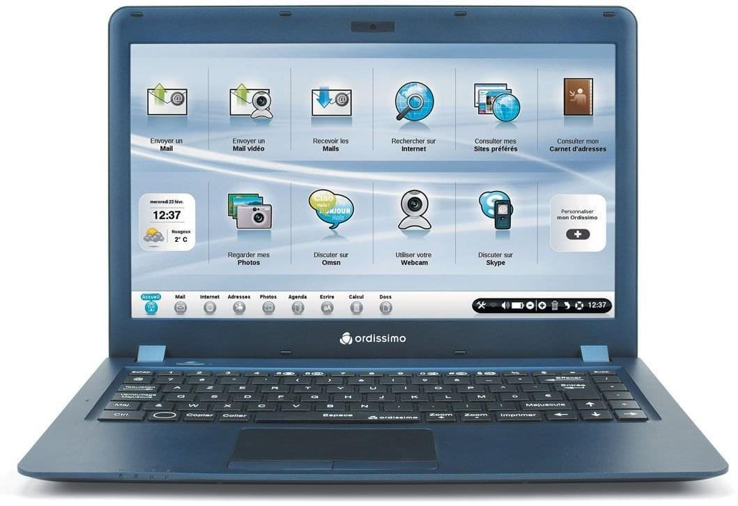 Ordissimo Agathe 13P (Ordinateur simplifié) (ART0283) - Achat / Vente PC Portable sur Cybertek.fr - 0