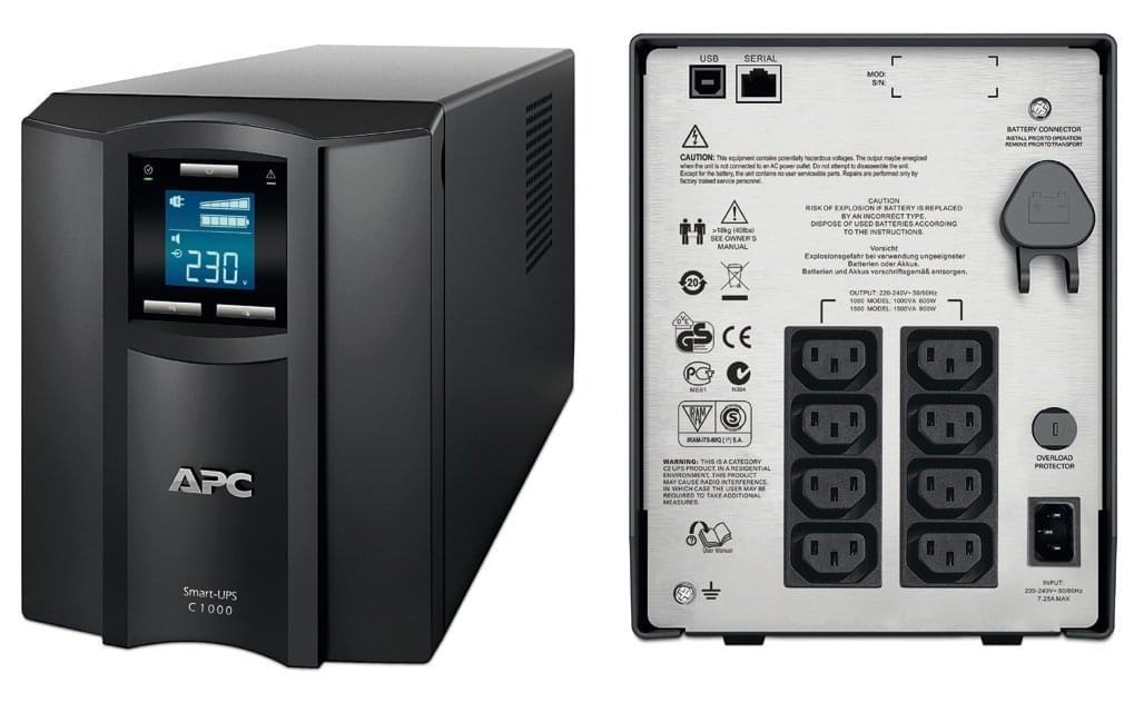APC Smart UPS C 1500VA SMC1500I (SMC1500I) - Achat / Vente Onduleur - Multiprises sur Cybertek.fr - 0
