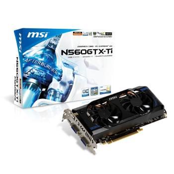 MSI GTX 560 Ti 1024 Mo (N560GTX TI-M2D1GD5/OC (PI recyclé) soldé) - Achat / Vente Carte Graphique sur Cybertek.fr - 0