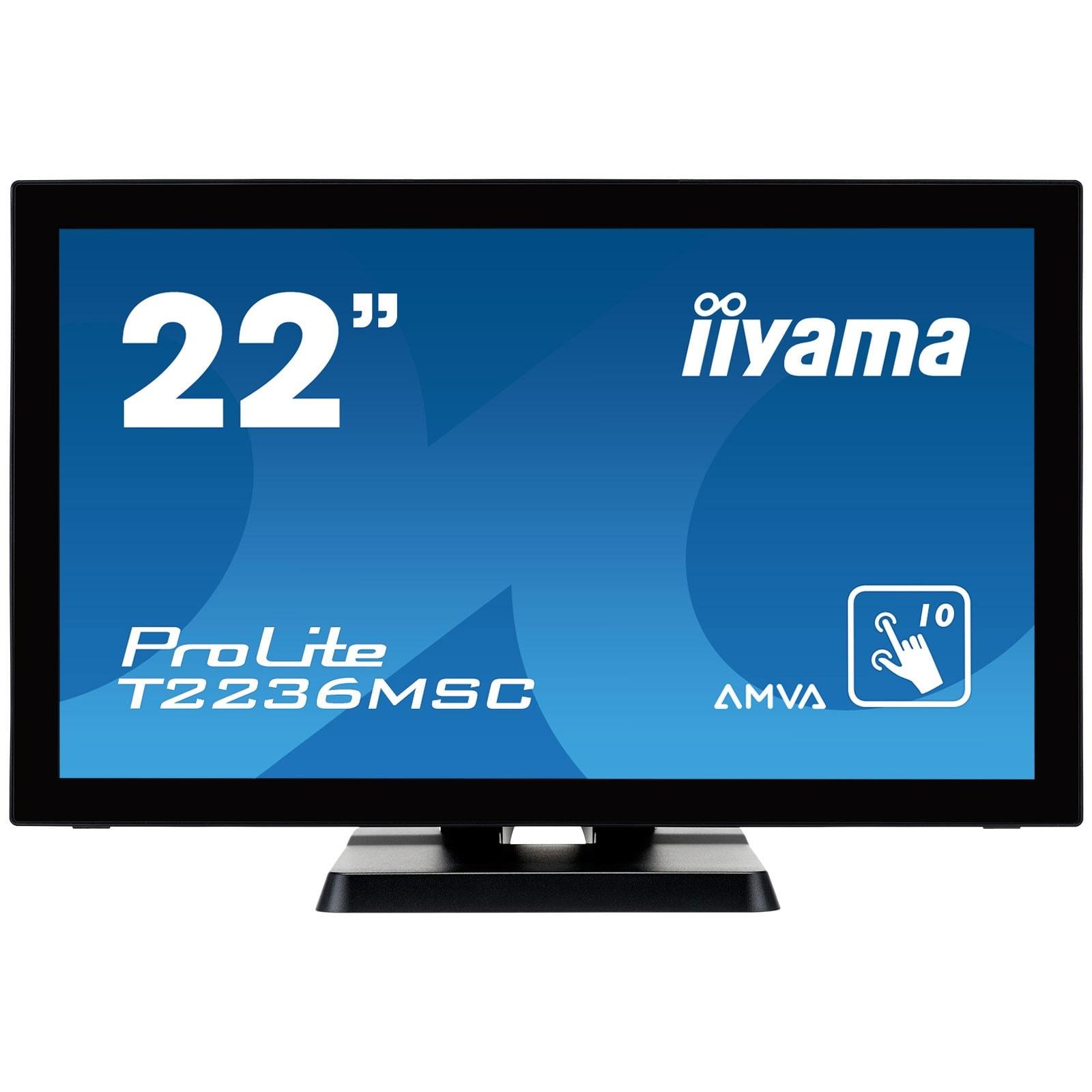 Iiyama T2236MSC-B2 (T2236MSC-B2) - Achat / Vente Ecran PC sur Cybertek.fr - 0