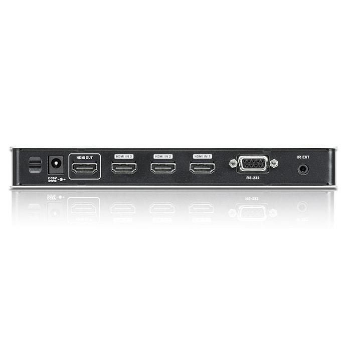 Commutateur HDMI 4 entrées/1 sortie - VS481B - Commutateur Aten - 2