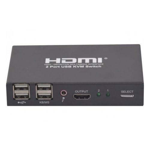 Commutateur HDMI 1.4 - 2 entrées/1 sortie - Commutateur No Name - 0