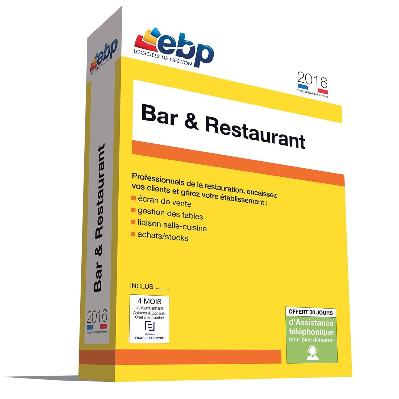 EBP Bar et Restaurant 2016 monoposte (1017P200FAA) - Achat / Vente Logiciel Application sur Cybertek.fr - 0