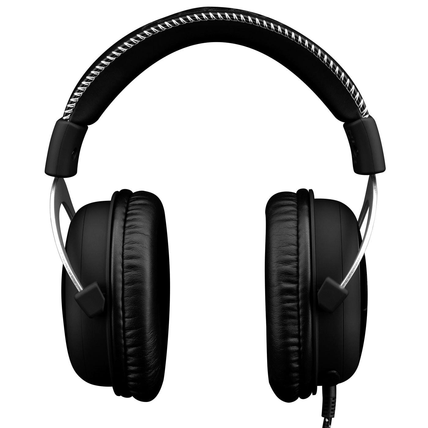 HyperX CloudX Gaming Headset (Silver) (HX-HSCX-SR/EM) - Achat / Vente Micro-casque sur Cybertek.fr - 2