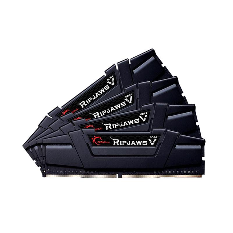 G.Skill F4-3400C16Q-32GVK (4x8Go DDR4 3400 PC27200) (F4-3400C16Q-32GVK) - Achat / Vente Mémoire PC sur Cybertek.fr - 0