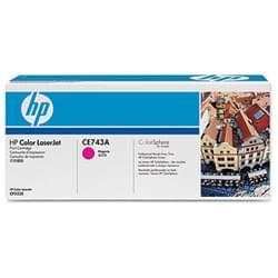 Toner 307A Magenta 7300p - CE743A pour imprimante  HP - 0