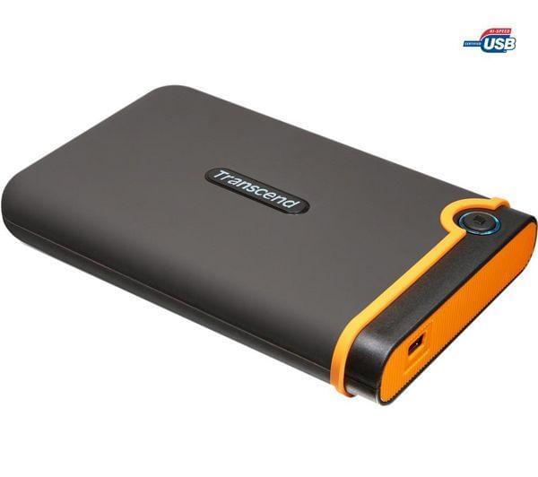 """Transcend 750Go 2""""1/2 USB2 StoreJet 25 Mobile M2 5400TRS (TS750GSJ25M2) - Achat / Vente Disque dur Externe sur Cybertek.fr - 0"""