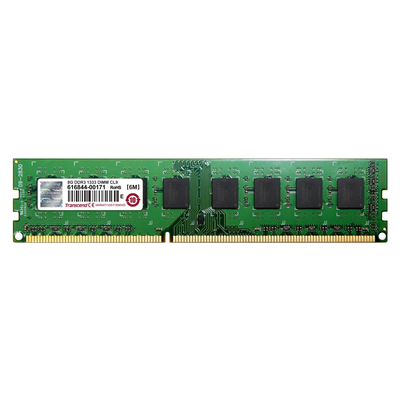 Transcend 8Go DDR3-1333 MHz -10600 JM1333KLH-8G (JM1333KLH-8G **) - Achat / Vente Mémoire PC sur Cybertek.fr - 0