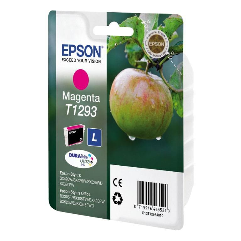 Cartouche T1293 Magenta pour imprimante Jet d'encre Epson - 0
