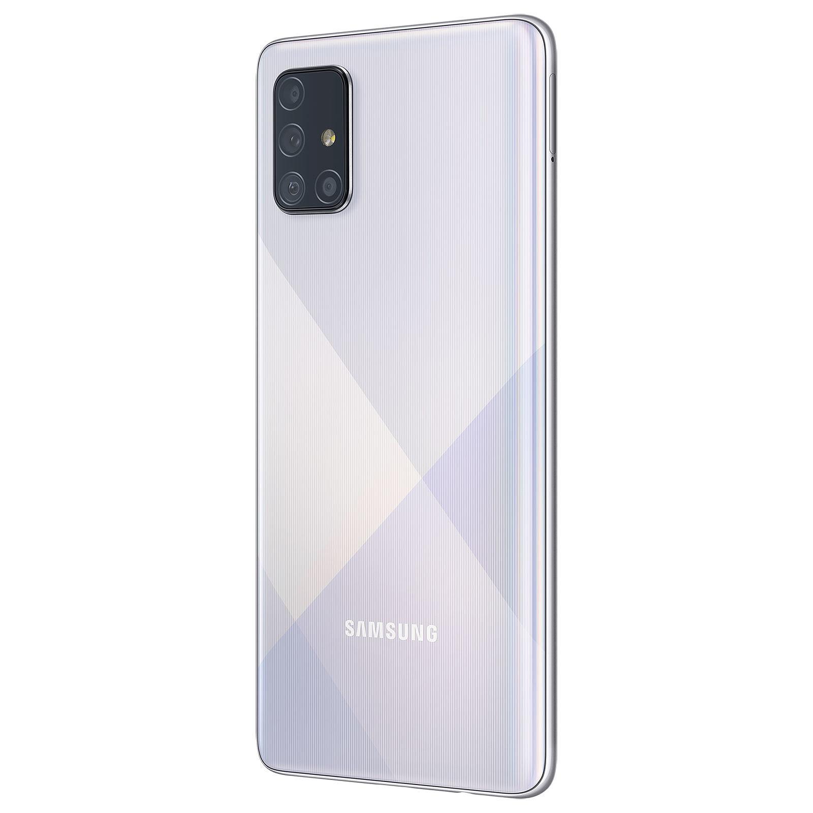 Samsung Galaxy A71 128Go Silver - Téléphonie Samsung - Cybertek.fr - 2