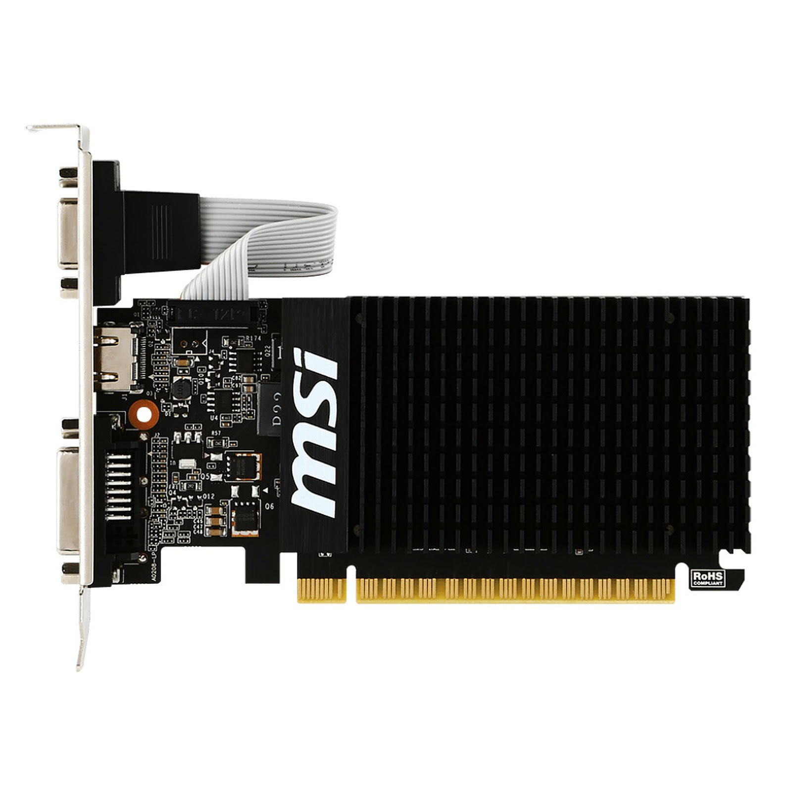 MSI GT 710 2GD3 LP 2Go - Carte graphique MSI - Cybertek.fr - 3