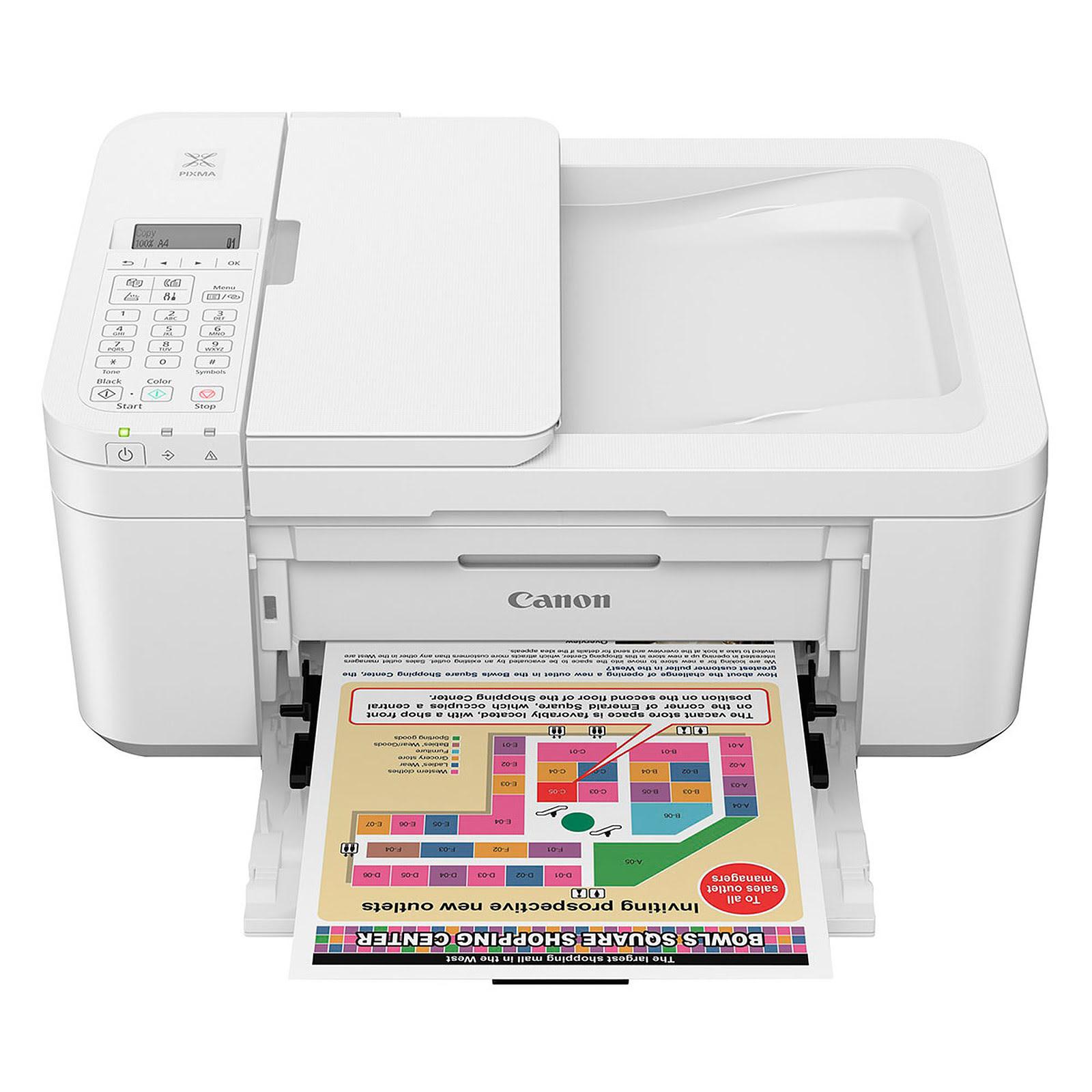 Imprimante multifonction Canon PIXMA TR4551 White - Cybertek.fr - 2