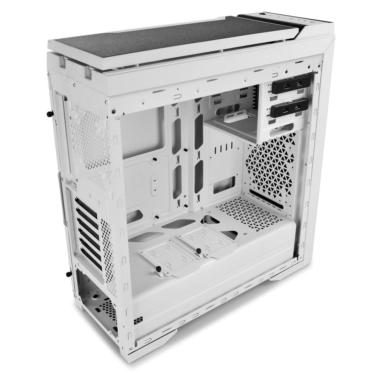 Deepcool DUKASE V2 Blanc - mT/Ss Alim/ATX (DUKASE WHV2) - Achat / Vente Boîtier PC sur Cybertek.fr - 3